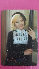 SNSD HYOYEON Official PHOTOCARD 5th YOU THINK Girl's Generation Photo Card 효연
