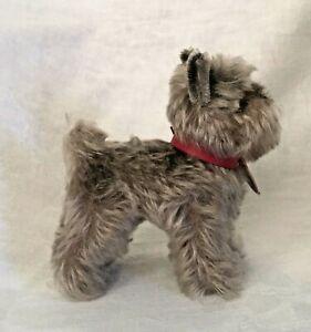 """Vintage Steiff """"Tessie"""" Schnauzer Dog - Miniature approx.6"""""""