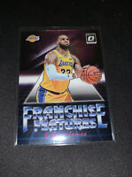 2018-2019 DONRUSS OPTIC FRANCHISE FEATURES. LEBRON JAMES. #6