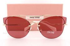MIU MIU 52s/s 52ss 62 Zvn0a0 Sunglasses Pale Gold Sole Violet Scenique Series