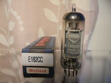 MULLARD E182CC 7119 NOS ONE NEW OLD STOCK BOXED TESTED VINTAGE VALVE TUBE