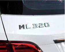 E813 ML 320 Emblem Badge auto aufkleber Schriftzug car Sticker Chrom ML 230
