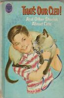 That's Our Cleo And Other Stories About Cats 1966 Haris Petie Whitman Book