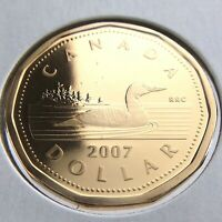 2007 Canada One 1 Dollar Loonie Proof Uncirculated Canadian Coin N328