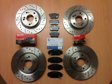 BMW 1 Series E81 E87 116 116d 116i Front Rear Brake Discs & Mintex Pads