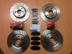 BMW 1 Series E81 E87 116 116d 116i Front Rear Brake Discs & Mintex Pads