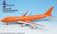 Inflight IF742005 Braniff Ultra Orange Boeing 747 N602BN Diecast 1/200 Jet Model