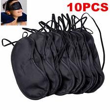 10Pcs Hot Soft Eye Sleep Mask Padded Shade Cover Travel Relax Sleeping Blindfold