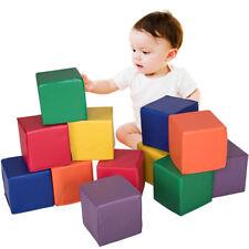 12 Kids Baby Soft PU Foam Big Building Blocks Set Play Toy Infant Toddler Room