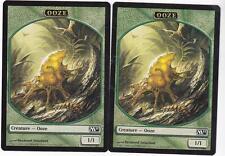 Magic MTG M2011: Token: 2 X Ooze (1/1) Token Card