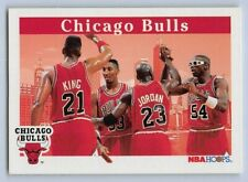 1992-93  MICHAEL JORDAN - Hoops CHICAGO BULLS CHAMPS TEAM Basketball Card # 269