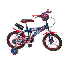 14 Zoll Kinderfahrrad Kinder Fahrrad Spiderman Jungen  4 5 6 7 jahre Neu Disney