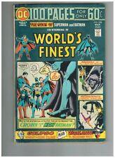 World's Finest Comics 228 Superman Batman Super-Sons Robin Aquaman  100 Pages Gd