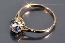 vrax366rp Russian rose Soviet USSR gold plated Vintage Alexandrite Ring! RARE!!!