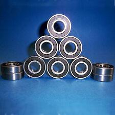 10 rodamientos de bolas SS 6001 2rs/12 x 28 x 8 mm/acero inoxidable inoxidable