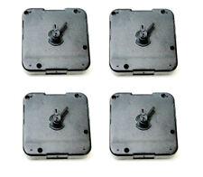 Lote de x4 Mecanismos maquinarias de reloj de pared de pilas