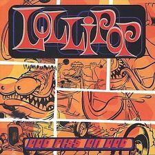 LOT Dog Piss on Dog by Lollipop CD Amphetamine Reptile Records Vinyl COOP ART