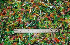 "LOT OF PLASTIC LURES-300+/- 2"" CURL TAILS-TUBES-TWIN TAILS-MANY COLORS, STYLES"