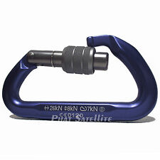 Trango NEO CLASSIC SCREW GATE MOUNTAIN ROCK CLIMBING PURPLE ALUMINUM Carabiner