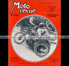 Moto revue no. 1189 sidecar montreuil * radior 125 luxury s 54 * 1954 bmw records