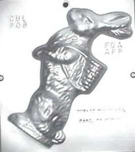 """8 1/2"""" Bunny Facing Left Chocolate Candy Mold Easter  808 NEW"""