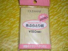 5 Packs Of Brand New Japanese Oil Blotting Sheets (250) Each