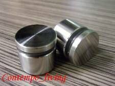 """1-1/2"""" Diameter 3/4"""" Stainless Steel Standoff Hardware for Glass"""