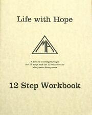 Marijuana Anonymous Life with Hope Workbook MA 12 Step Recovery BRAND NEW
