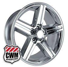 "18 inch 18x8"" Iroc Z Chrome OE Replica Wheels Rims for Chevy S10 2wd 1982-2005"