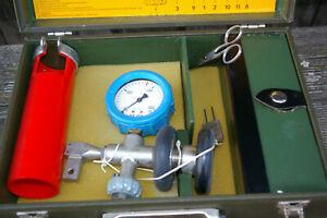 Bundeswehr Prüfvorrichtung und Füllvorrichtung Atemluft für Druckgasflaschen