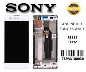 Genuine Sony Xperia XA F3111 XA Dual F3112 Complete LCD with Digitizer in White