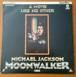Michael Jackson : Moonwalker - Laser Disc Pioneer PLFEB 30171-1982 PG