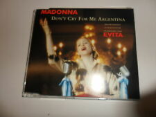 CD Madonna – Don 'T CRY FOR ME ARGENTINA
