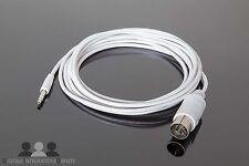 7-Pol Kabel 3m weiss I-pod / Handy / PC an Bang Olufsen AUX Beo B&O Beosound