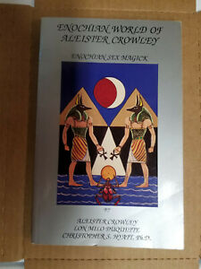 Enochian World of Aleister Crowley 1991 stated 1st Edition Signed Paperback