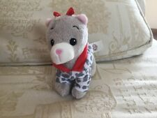 """Small Puppy / Dog Soft Toy 6"""" Standing with coat"""
