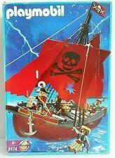 PLAYMOBIL - bateau Pirates 3174 ( château fort chevalier maison western train )