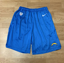 Nike NFL Dri-Fit Los Angeles San Diego Chargers Shorts Size Men's Medium
