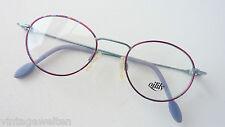Oilily Markenfassung Kinderbrille oval,lunettes frame Farbig Metallgestell sizeK