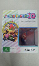 Mario Party 10 Nintendo Wii U Amiibo Bundle Australian Stock