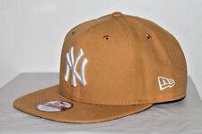 NEW ERA New York Yankees PANAMA TAN 9FIFTY SNAPBACK BROWN/GREEN MLB HAT