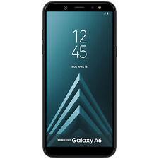 Samsung Galaxy A6 (2018) 32GB Unlocked GSM Dual-SIM 16MP Smartphone - Black