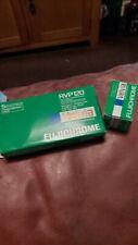 6 X Rolls of Fujifilm Fujichrome Daylight Velvia RVP 120 Film - Exp 1993 #511031