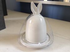 NEW Hearth & Hand Magnolia Stoneware Egg Cup Holder Bunny Ears Easter Gaines