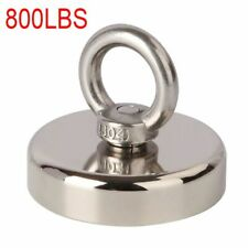 800 Lbs Pull Force Fishing Magnet Heavy Duty Strong Neodymium Magnet