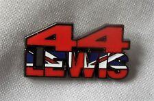 * Nouveau * Lewis Hamilton 44 émail insigne. Marteau Temps, F1, Formule un, Silverstone.