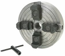 Grizzly H8049 6-Inch 4-Jaw Wood Chuck, 1-Inch by 8 TPI