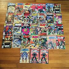 Lot Of 31 Vintage G.I. Joe Marvel Comic Book, Giant Lot
