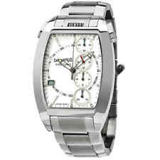 Eberhard and Co Chrono 4 Chronograph Automatic White Dial Men's Watch 31047.1