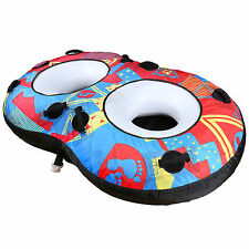TBF Wave Crusher Duo 2P Double Rider Unisex Towable Ring Donut Ringo Water Tube